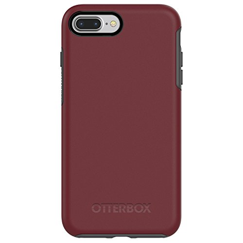 OtterBox SYMMETRY SERIES Case for  iPhone 8 Plus & iPhone 7 Plus (ONLY) - Retail Packaging - FINE PORT (CORDOVAN/SLATE ()