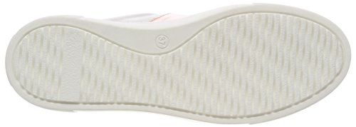 Pink Hanne Mujer Biz Zapatillas Velvet Shoe Light para White Blanco Patent wTavRPq