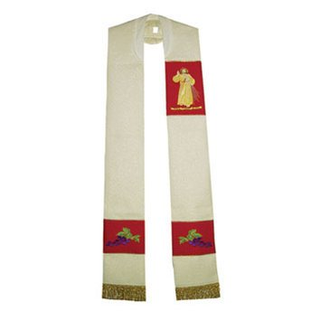 Divine Mercy Overlay Stole by Religious Supply