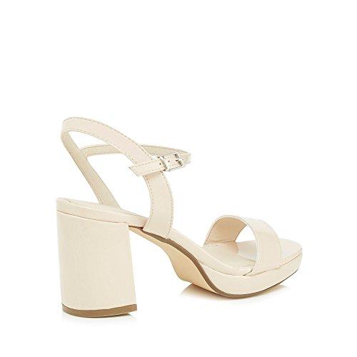Red Herring - Sandalias de vestir para mujer blanco crema Talla única