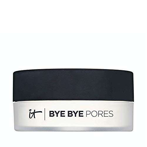 IT Cosmetics Bye Bye Pores - Poreless Finish Loose Setting Powder - Universal Translucent Shade - Contains Anti-Aging Peptides, Silk, Hydrolyzed Collagen & Antioxidants - 0.23 oz