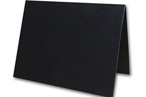 (Basic Colorful A-2 Folded Note Cards Blank Invitations | Size 4.25