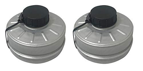 NATO 40mm Respirator Mask (2 Pack) Filters Israeli NBC Protection NATO 40mm Emergency preparedness, For Industrial, Chemical, Painting, Welding Prepping PREMIUM FILTER