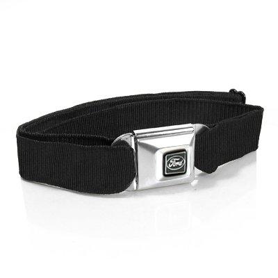 Ford Emblem Seatbelt Buckle Black Strap Belt - Seat Belt Buckle Emblem
