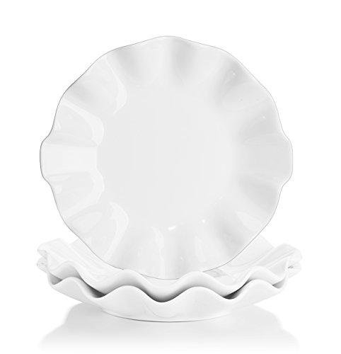 White 2 Salad Plates - 2