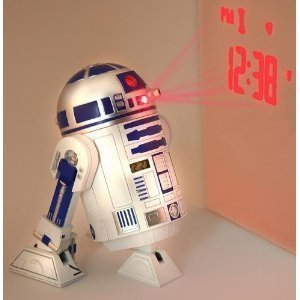 Star Wars R2D2 Projection Alarm Clock alarm clock (time projection) Overseas Limited imports