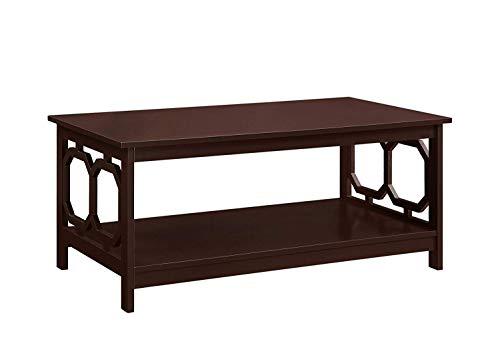- Convenience Concepts 203220ES Omega Coffee Table, Espresso