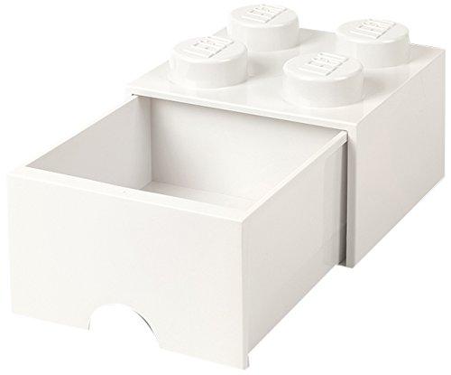 LEGO Brick Drawer 4 White by LEGO