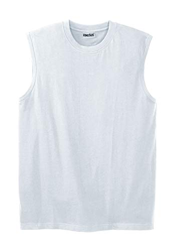 KingSize Men's Big & Tall Shrink-Less Lightweight Muscle T-Shirt