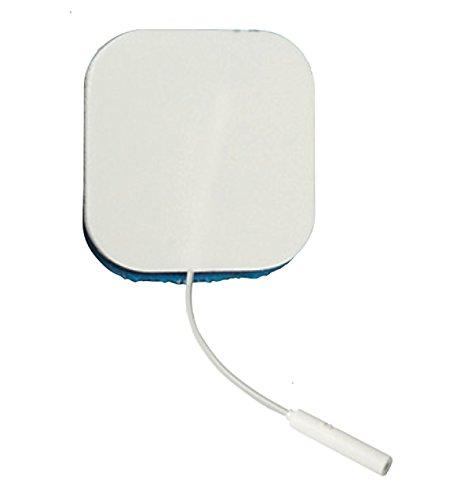 Empi StimCare Specialty Blue Gel Sensitive Skin 2 x 2 Square Electrodes 4 per Pack 199174-001