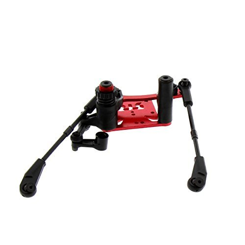 Arrma Kraton 6S BLX 1/8: Steering Rack, Top Plate Bellcrank Servo Saver & Hub by Arrma - Servo Saver Steering Plate