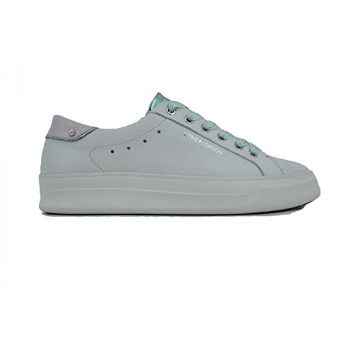 Femme Sneakers Bianco 25606ks1 Basses Crime London wRqfv