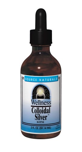 Source Naturals Wellness Colloidal Silver, 2 Ounce