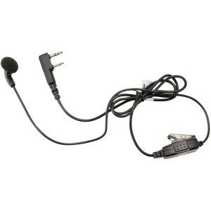 (New Kenwood Two Way Radio EarPhone Headset w/ Clip Mic)