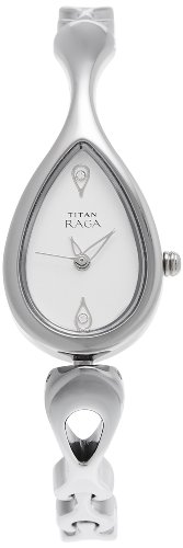Titan Raga Analog Silver Dial Women's Watch -NM2400SM01 / NL2400SM01