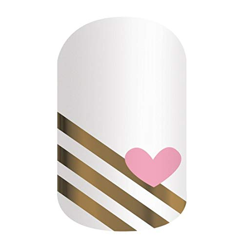 Jamberry Nail Wraps - Fonda You - HALF SHEET - Limited Edition by Generic