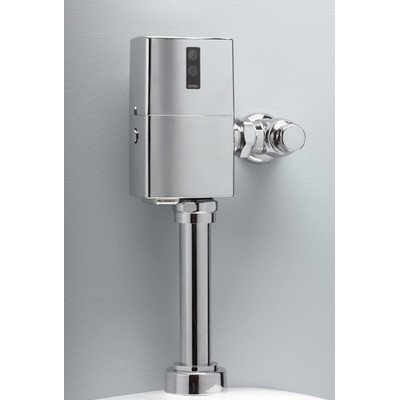 Toto TET1GNP EcoPower Toilet Flushometer Valve Only, Brushed Nickel by TOTO (Image #1)