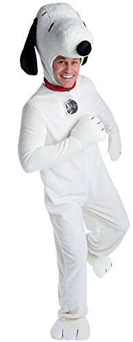 LF Centennial Pte. Snoopy Deluxe Adult Costume X-Large White