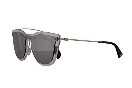 Valentino VA 4008 Sunglasses Transparent w/Silver Mirror Lens 37mm 50246G VA4008S VA4008/S VA4008 ()