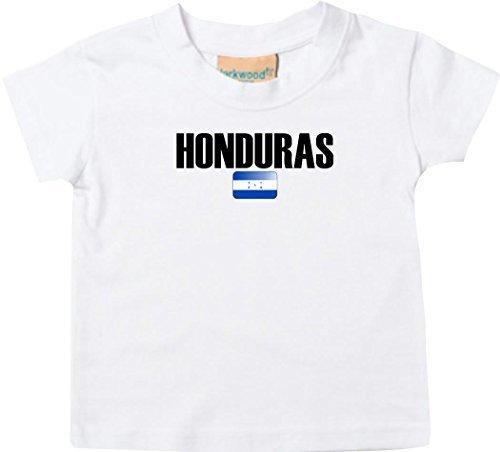 Shirtstown Bebé Niños Camiseta Fútbol Camiseta de País hunduras: Amazon.es: Ropa y accesorios