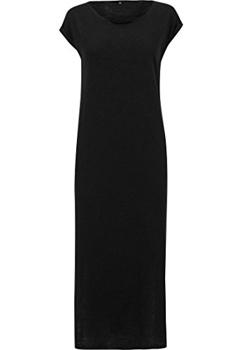 Urban Classics Mujeres Vestidos / Vestido Ladies Slub Negro