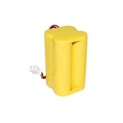 700 Mah Nicad Battery - REPLACEMENT BATTERY FOR EMERGENCY LIGHT EXIT SIGN 4.8V 700mAh NiCad - Length 1-1/8 in, Width 1-1/8 in., Height 1-7/8 in.