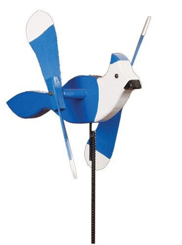 Whirlybird Blue Jay Lawn Decoration Amish-made ()