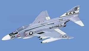 F-4J Phantom II - Marines, VMFA-333, Loaded Aircraft Model Mahogany Display Model / Toy. Scale: 1/45