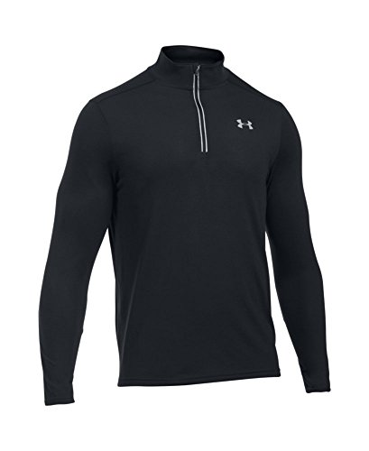 Under Armour Men's Streaker Run 1/4 Zip , Black (001)/Reflective, Small by Under Armour (Image #3)
