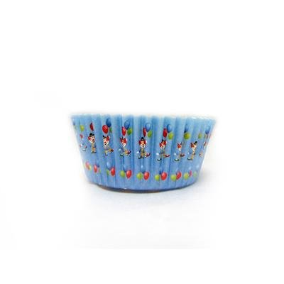1 x 2 x 1 Mini Clown Baking Cups/Case of 1728