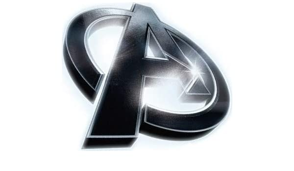 Amazon com: 3 Inch Avengers A Logo Decal Iron Man Captain