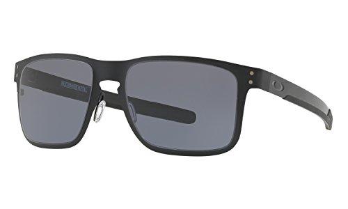 Oakley Holbrook Metal Sunglasses Matte Black witGrey - Metal Prizm Oakley Holbrook