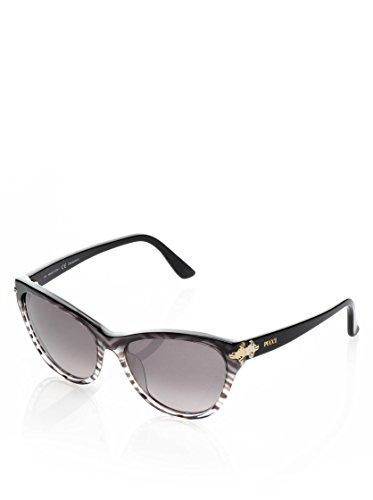 Emilio Pucci EP 715S 006 Baby Zebra Plastic Cat Eye Sunglasses Grey Gradient - Pucci Sunglasses