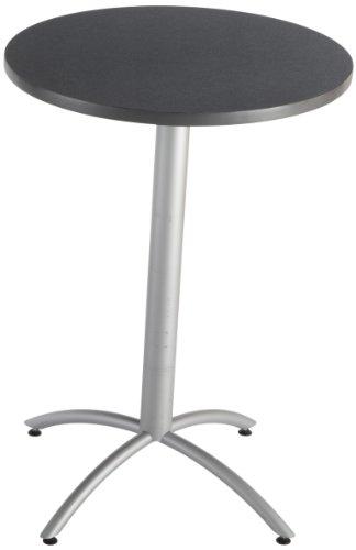 Iceberg ICE65621 CafeWorks Round Cafe Table with Powder-Coated Steel Base, 36