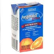 Resource Arginaid Extra Orange Burst Brikpaks 27 X 8oz Case by Arginaid Extra