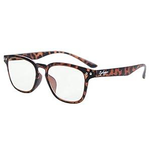Eyekepper Vintage Flex Lightweight Plastic Frame Computer Glasses Readers Eyeglasses Tortoise +3.5