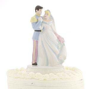 Disney Wedding Cake Toppers (Cinderella & Prince Charming Wedding Cake Topper)