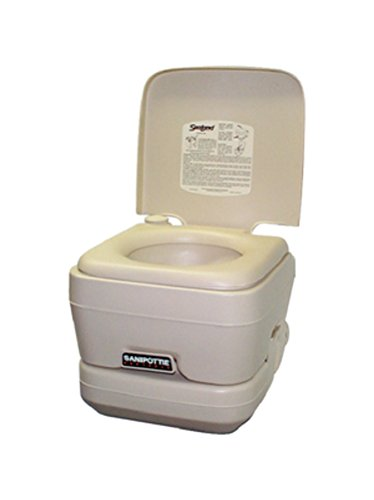 Dometic 301096206 Gray Portable Toilet by Dometic