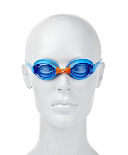 SPEEDO Junior Sea Squad Skoogle Flexifit, Blue/Orange -
