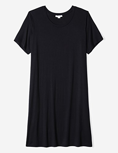 Shirt Short Dress Neck Sleeve Plus Daily Scoop Women's Size T Ritual Jersey Navy xnwqTBgXvU