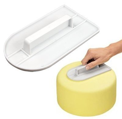 New Autek Straight Edge Icing Polisher Smoother Cake Tool, Easy Glide Fondant Smoother hot sale