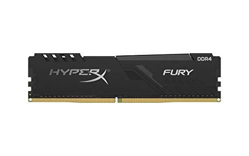 HyperX Fury 16GB 2666MHz DDR4 CL16 DIMM Black XMP Desktop Memory Single Stick HX426C16FB3/16