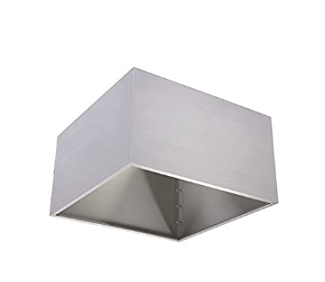 Custom Stainless Steel Kitchen Condensate Hood for Dishwashing Area (Size : 1400x900x500 mm)