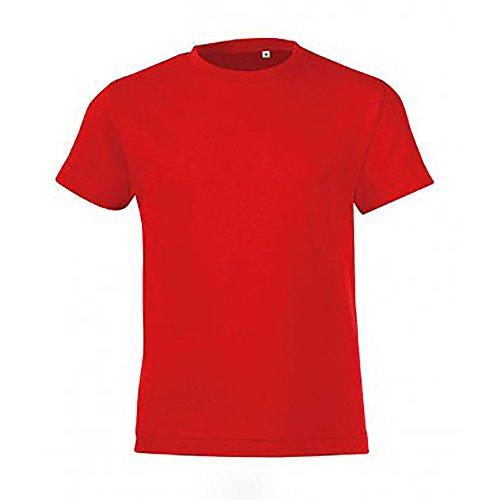 41154a1a2 Barato SOLS Camiseta de manga corta modelo Regent para niños - www ...
