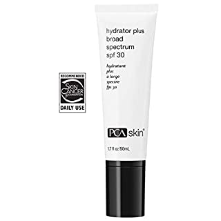 PCA SKIN Hydrator Plus Broad Spectrum SPF 30, Zinc Oxide Daily Moisturizing Facial Sunscreen, Ocean Friendly Formula, 1.7 fluid ounce