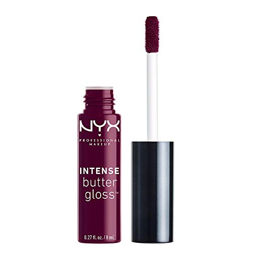 NYX PROFESSIONAL MAKEUP Intense Butter Gloss, Black Cherry Tart, 0.27 Ounce