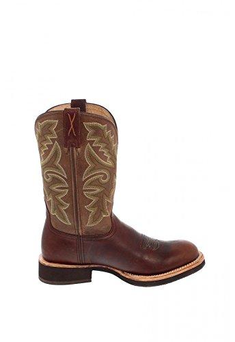 Twisted uomo MHM0009 X western Stivali 1692 Boots Marrone APqwA8