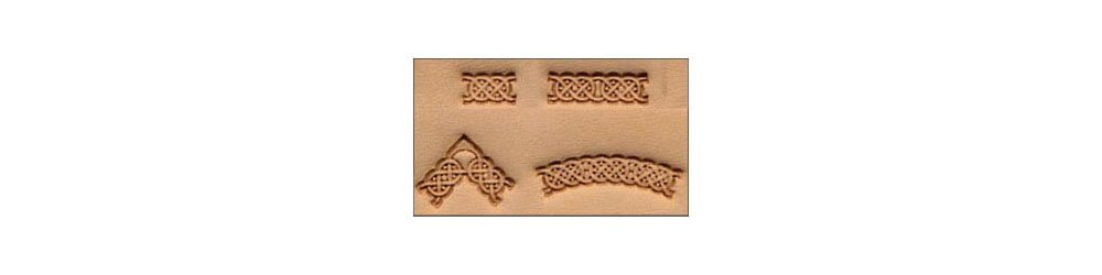 Tandy Leather Craftool� Celtic 4-pc. Stamp Set 69015-00