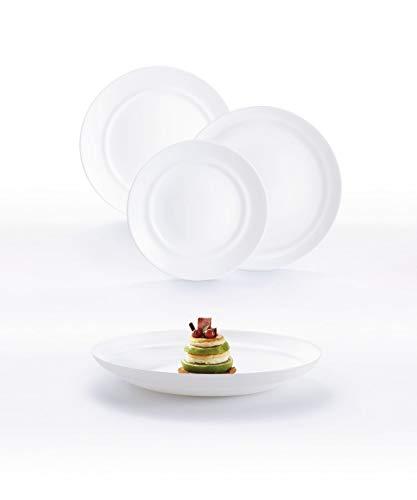 Luminarc ALEXIE Opal Glass Dinner Set
