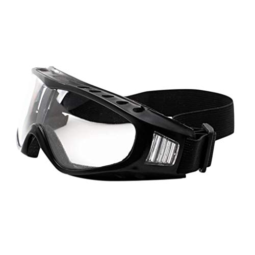 Alangbudu Ski Goggles Windproof & Dustproof for Snowboard Bicycle Motorcycle Goggles- Glasses Bike ATV Motocross Adjustable UV 400 Protective Outdoor Sports Tactical Combat Military Men Women